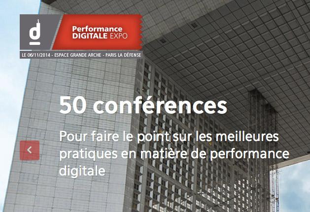 RDV au Performance Digital Expo : 50 conférences pour faire le point sur les meilleures pratiques en matière de performance digitale