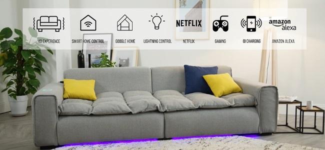 CES 2019 : Le Smart Sofa de Miliboo