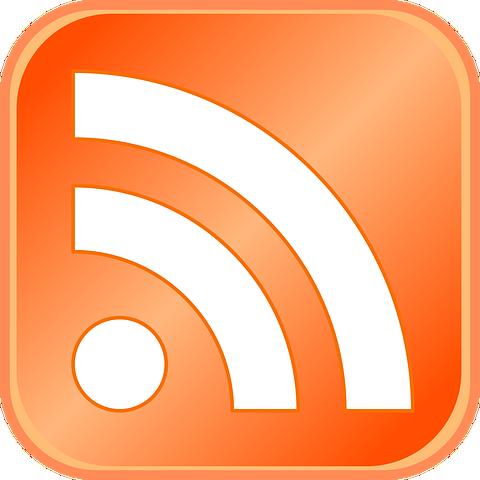 Icône qui symbolise le flux RSS sur une page web