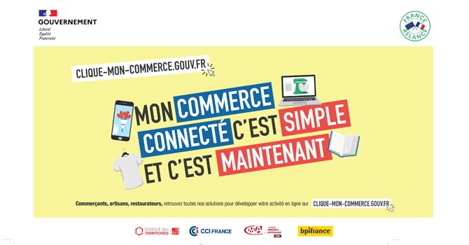 Clique-mon-commerce, la plateforme pour les commerces impacté par le Covid19