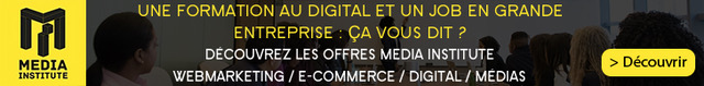 Media Institute vous forme au digital avec un CDI à la clé