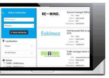 Dépot d'annonce rapide et facile pour vos offres d'emploi et stage web